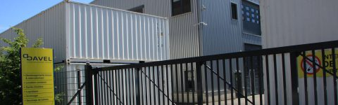 CONTAINER ON SITE