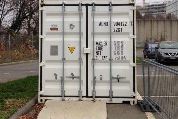 Container sur site